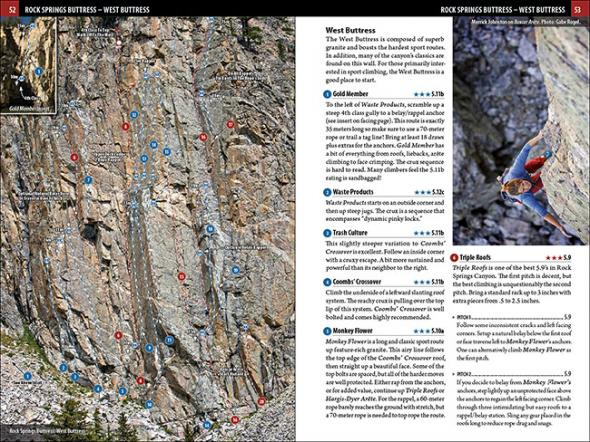 Guidebook Rock Climbing Jackson Hole Pinedale Wyoming