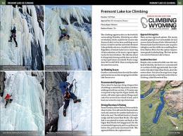 Fremont Lake Ice Climbing