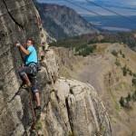 Jakub Galczynski Climbing in Corbet's Couloir