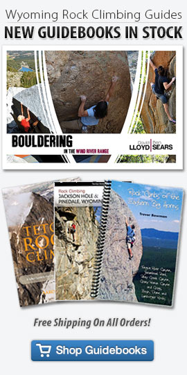 Shop Wyoming Climbing Guidebooks