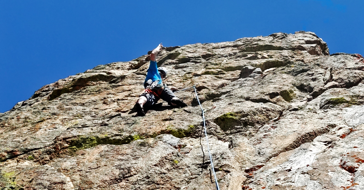 Belay Chair Free Guide: Sky Lounge at Rock Springs Buttress, Jackson WY
